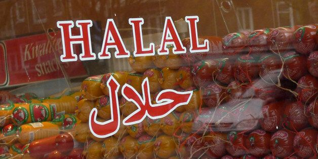Halal butcher store in Amsterdam, Netherlands, Thursday March 31, 2011. The Dutch parliament passed a...
