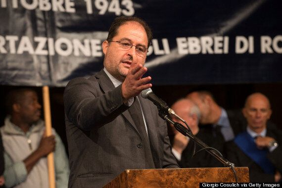 Leader Of Rome's Jewish Community Riccardo Pacifici Locked In At Auschwitz And