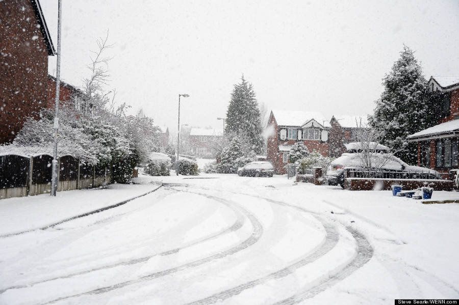 UK Weather Forecast Brings Thundersnow Storms And 6 Inches Of