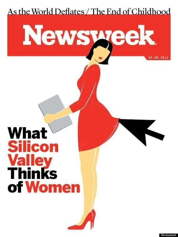 Newsweek's Sexism In Silicon Valley Cover Provokes Pretty Ironic Media
