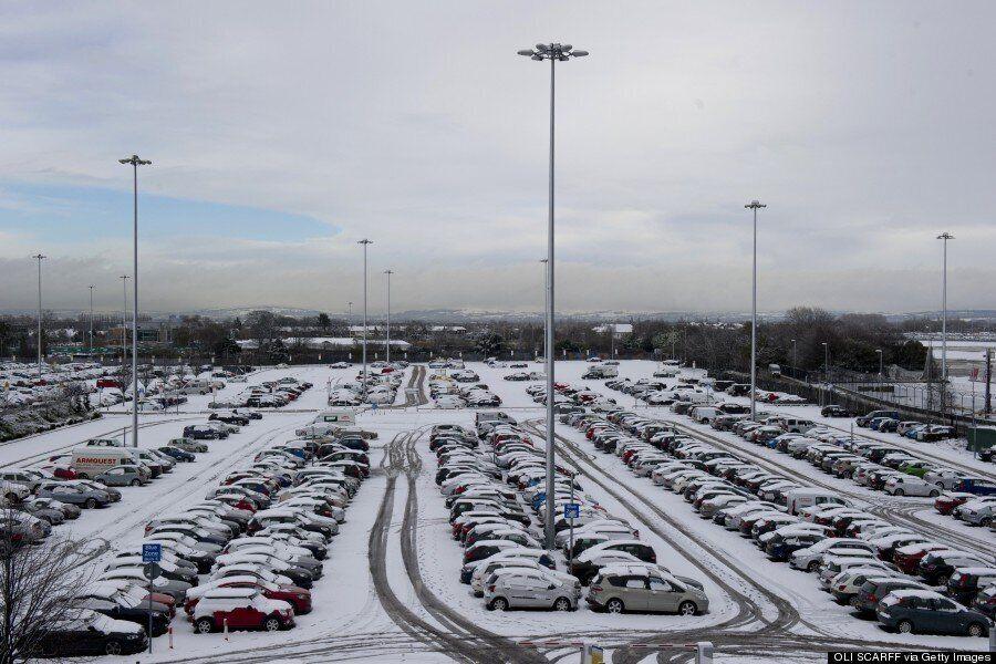 UK Weather Forecast Warns Frozen Thundersnow Will Bring Treacherous Road