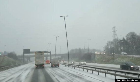 UK Weather Forecast Sees Thundersnow Storms Bend Lampposts In Terrifying 'Vortex