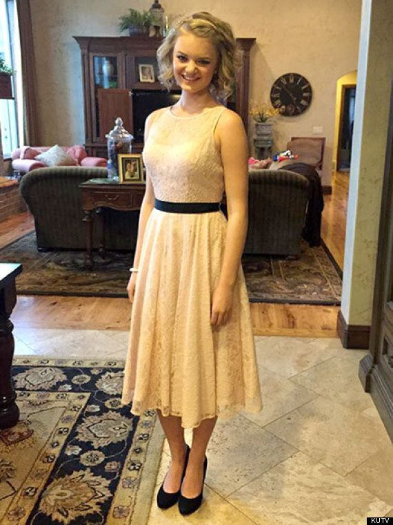Apparently This Dress Was 'Too Inappropriate' For A High School