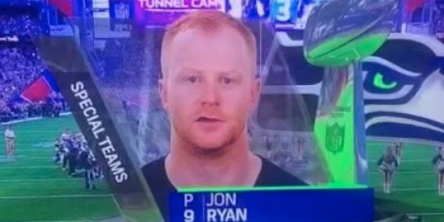 Seattle's Jon Ryan Just Said He Went To The University Of Vagina During The Super
