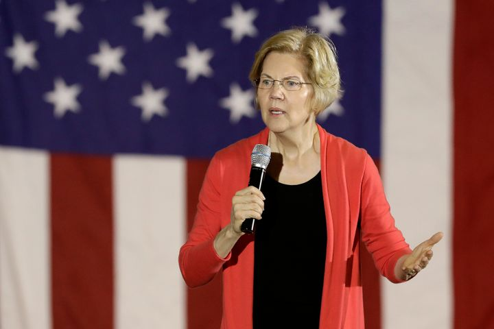 "Emphasizing his ""democratic socialism"" is a way for Sanders to distinguish himself from Sen. Elizabeth Warren (D-Mass.), who"