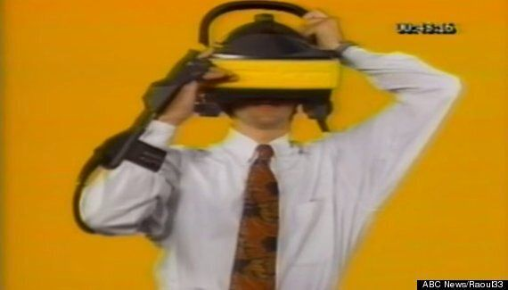 This Is What Virtual Reality Looked Like In