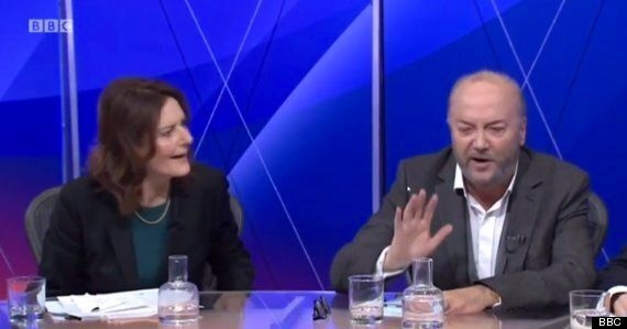 BBC Question Time: George Galloway Heckled During Fractious Debate On Rising Anti-Semitic