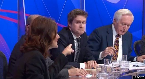 BBC Question Time: Tristram Hunt Under Fire For 'Sneering' At