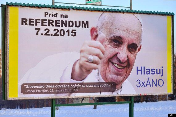 Slovakia Holds Referendum On Restricting Gay