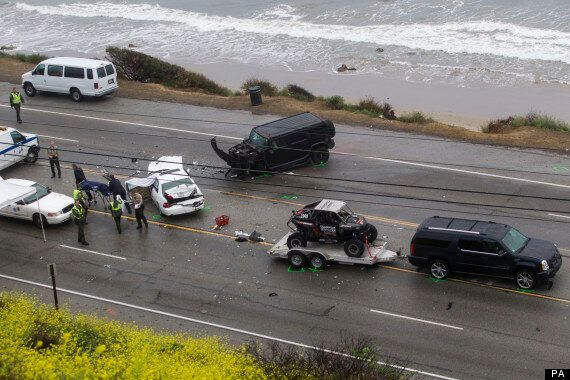 Bruce Jenner Involved In Fatal Collision On Pacific Coast Highway; Kim Kardashian's Step-father