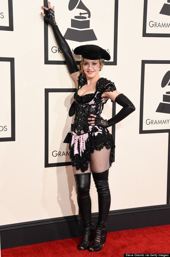 Grammys 2015: Madonna Flashes Her Bum On The Red Carpet