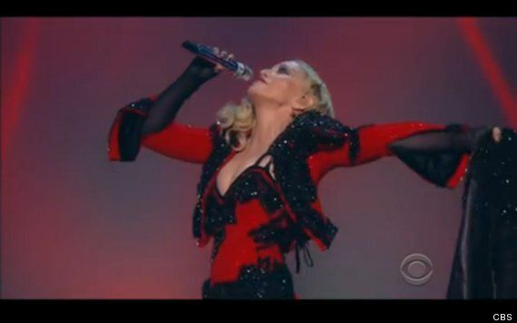 Grammys 2015: Madonna Performs 'Living For Love' And Battles Minotaurs Dressed As A Matador (Another...