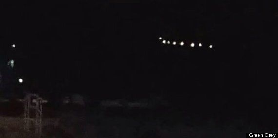 Mysterious Ring Of Lights Spotted Over Arizona