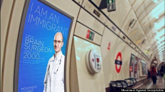 Immigration Poster Campaign Aims To 'Celebrate' Migrants Ahead Of General