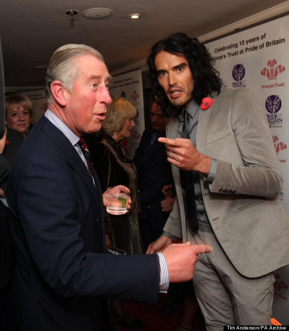 Russell Brand Slams Prince Charles Over Comments On Radicalisation Of Young
