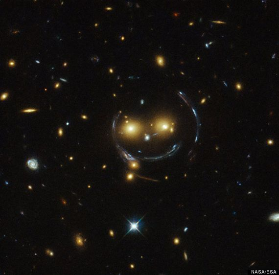 NASA Finds Smiley Face In