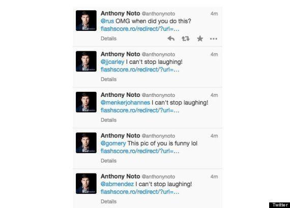 Twitter Exec Anthony Noto Hacked... On