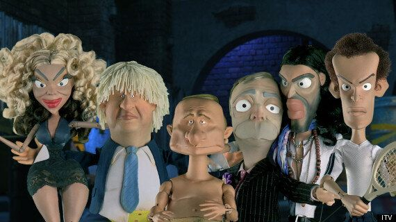 Nigel Farage, Russell Brand And Simon Cowell To Be Sent Up In New 'Spitting Image'-Style Puppet Satire,...