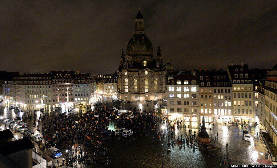Pegida Anti-Islam March In Germany Only Draws 2,000 Hopefully Signalling Their
