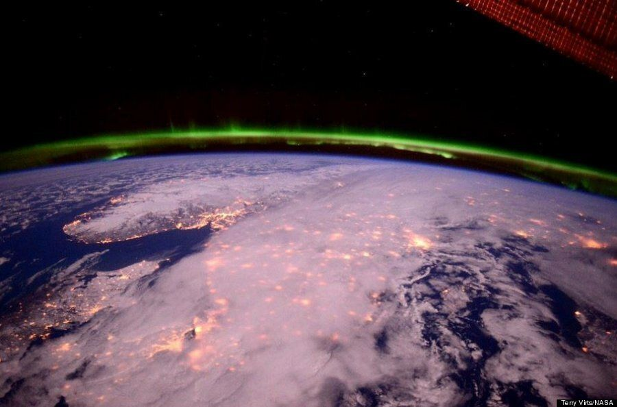 Astronaut Captures Stunning Picture Of United Kingdom With