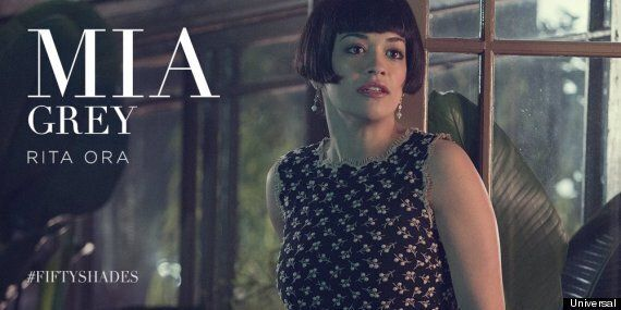 'Fifty Shades Of Grey': Rita Ora 'Has Just Three Lines' As Christian Grey's Sister, Mia... And One Of...