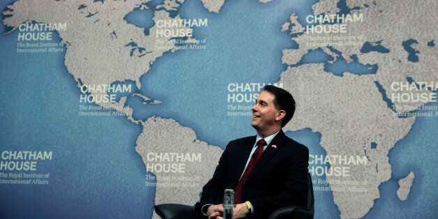 Walker gave his bizarre answer at the British foreign policy think tank Chatham House on