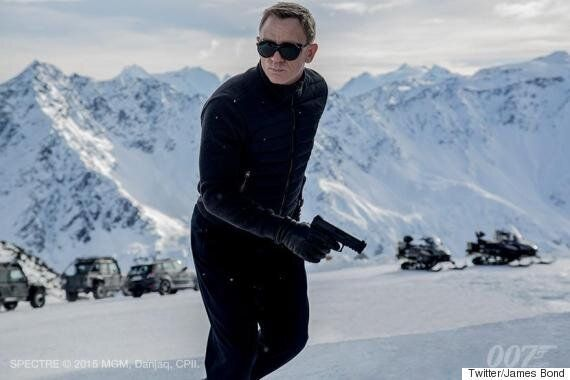 'Spectre': First Look At Daniel Craig In The New James Bond Film (PIC,