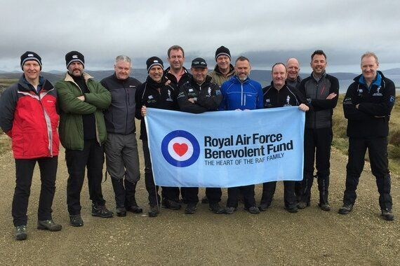 Crossing the Falklands for RAF