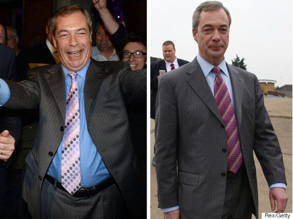 Nigel Farage Has Lost A 'Substantial Amount Of Weight' For The
