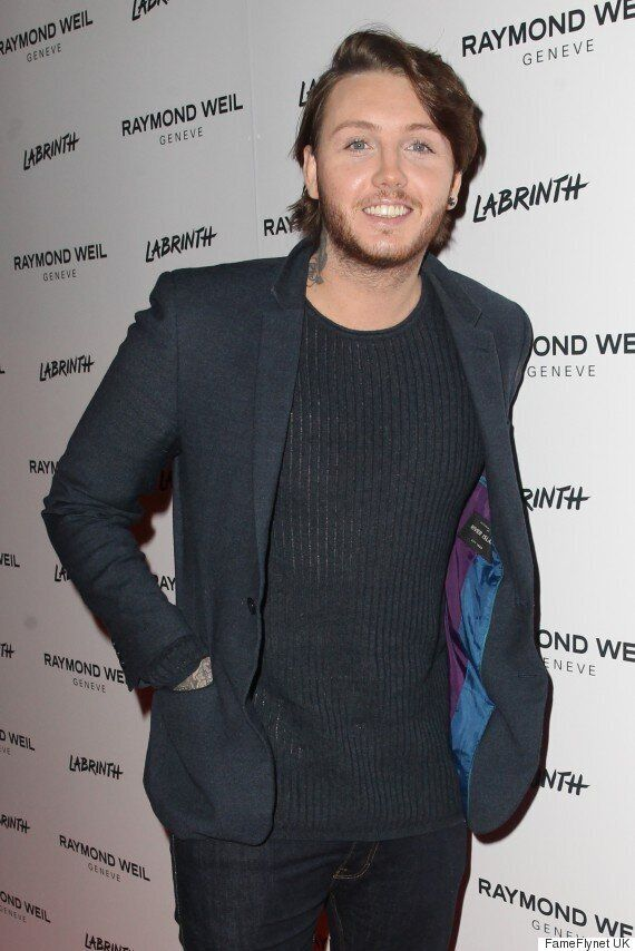 James Arthur Debuts Glossy New Look At Pre-Brit Awards Party In London
