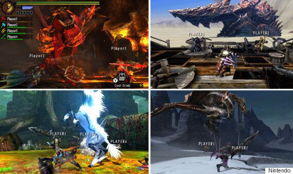 'Monster Hunter 4 Ultimate' 3DS Review: Monstrously