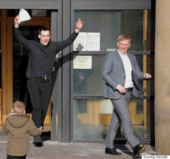 Gleeful Corey Savory And Thomas Vernon Walk Free After Admitting 'Ferocious'
