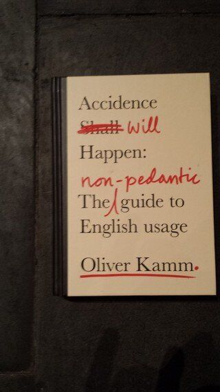'Accidence Will Happen' - A Brilliant New Grammar Book for Anyone Who Loves