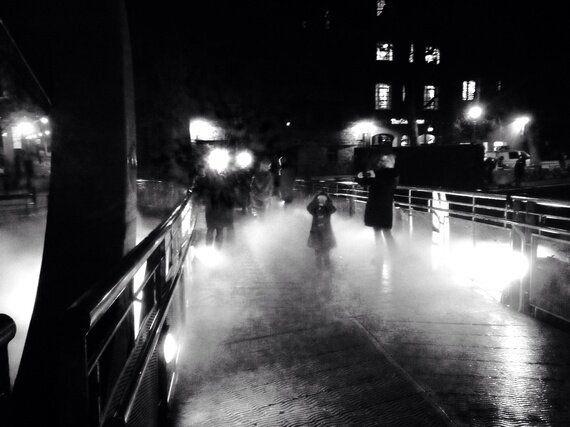 Bristol's Fog Bridge - With Fujiko