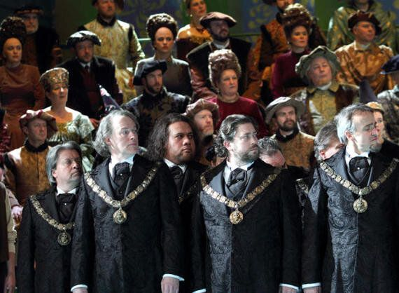 The Latest Wagner's Production by the ENO: The Mastersingers of