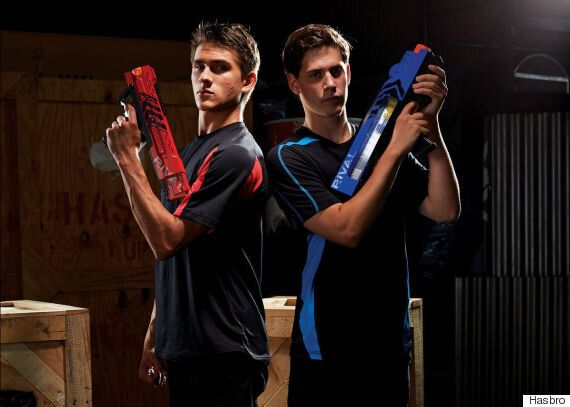 Nerf Unveils Guns Specifically For