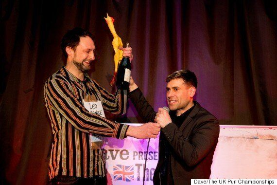 The UK Pun Championships 2015: Top Comedians Battle It Out For Puntastic