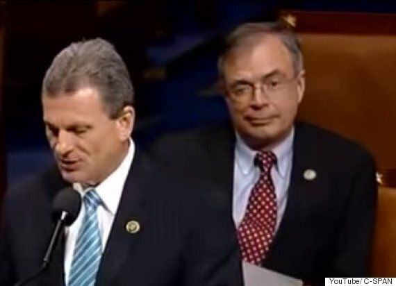 Politician Andy Harris Caught Winking At TV Cameras During Late Night