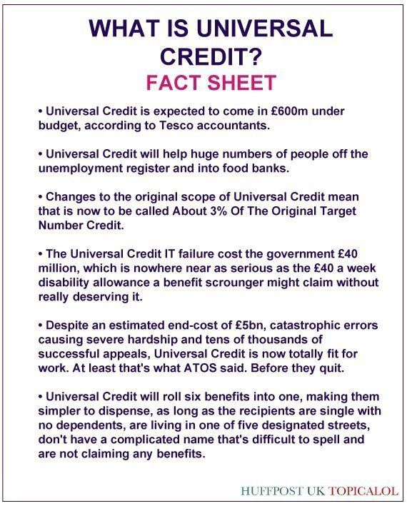 What Is Universal Credit? Read Our Handy Fact