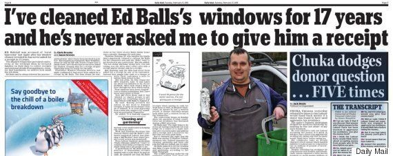 Ed Balls Window Cleaner Story Isn't Quite As Embarrassing As We All