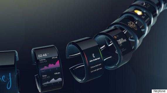 The Neptune Smart Watch Puts The Power In The Watch, Not The