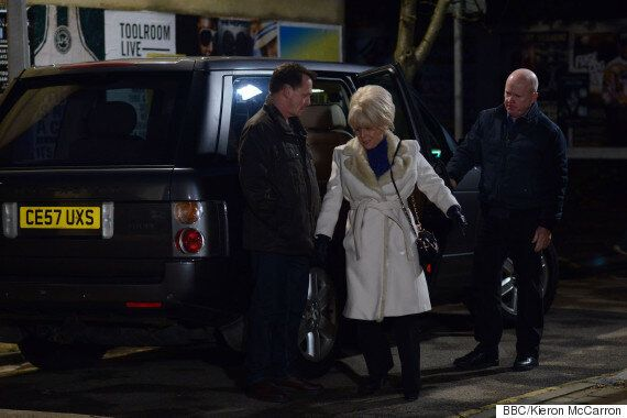 'EastEnders' Review: Peggy Mitchell's Back! 'Who Killed Lucy?' Clues Stack Up As Live Week Begins