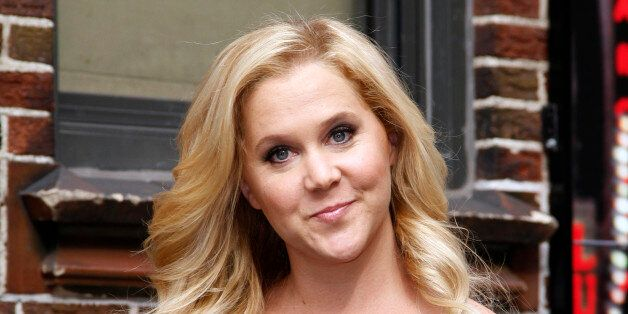 NEW YORK, NY - APRIL 01: Amy Schumer arrives for the 'Late Show with David Letterman' at Ed Sullivan Theater on April 1, 2014 in New York City. (Photo by Donna Ward/Getty Images)
