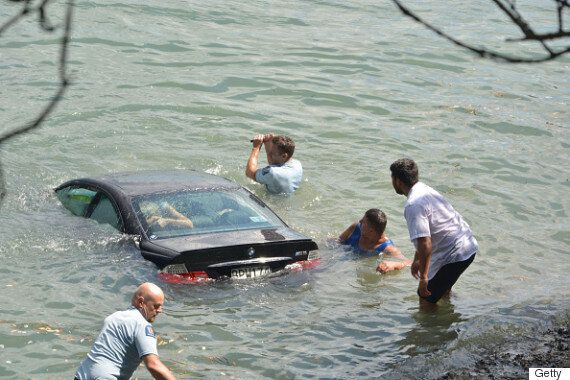 New Zealand Police Officers Save Woman From Drowning In Sinking