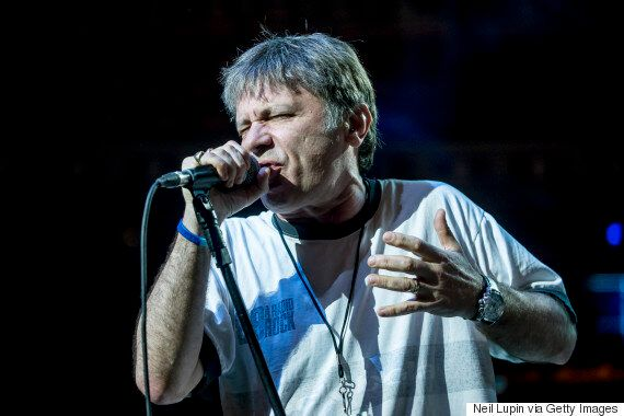 Iron Maiden Singer Bruce Dickinson Reveals He Has Cancer And Is Undergoing Treatment For Tongue