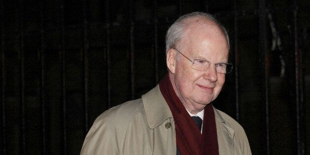 Murdoch MacLennan, chief executive of Telegraph Media Group in Britain, leaves the High Court after giving...