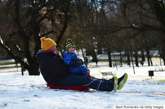 UK Weather: Snow And 'Blizzard' Conditions Forecast For North Of England And