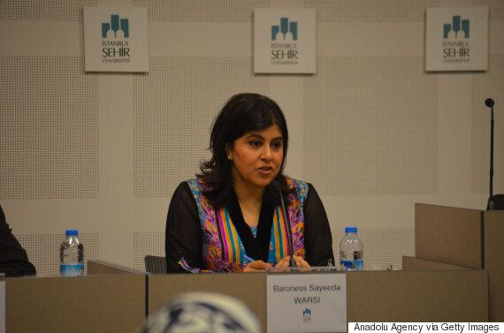 Baroness Warsi Says Terrorists Are 'Radicalised In Their Bedrooms' - Blaming Mosques Is 'An Easy