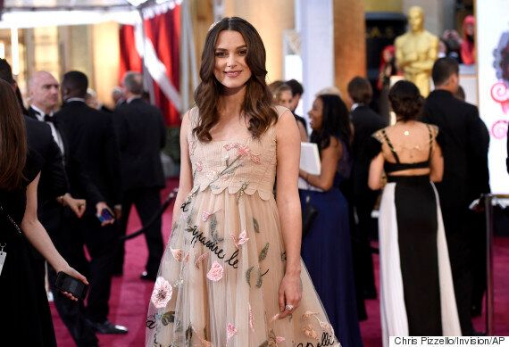 Oscars 2015: Pregnant Keira Knightley Glows On The Red Carpet Ahead Of The Academy Awards