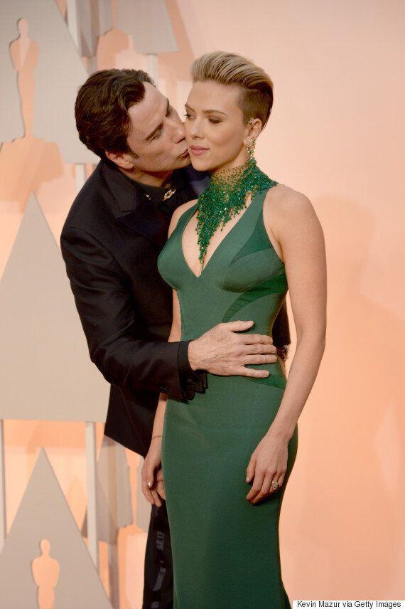 Oscars 2015: John Travolta Gets Himself In Some Strange Situations With Scarlett Johansson, Idina